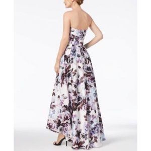 c4ad351d Xscape Dresses | Perfect For Prom Floral Bustier Highlow Gown | Poshmark